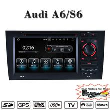 UPsztec 7 inch Car Audio Products Android 7.1 Car DVD Player for Audi A6 S6(1997-2004) with GPS BT IPOD DVR