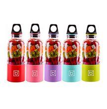 500ml Juice blender portable mixer bottle automatic mini coffee shaker juice maker bottle USB charging 6 colors gift box