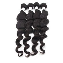 Unprocessed Loose Wave Brazilian Human Hair Wave, No Tangle Cuticle Aligned Double Weft Human Hair Extension