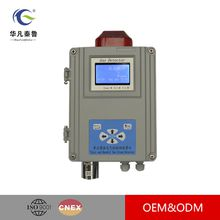 Single Point of Wall-mounted Gas Alarming Detector,Fixed Combustible Gas Detector Authentic and Das Leak Sensor LCD Display