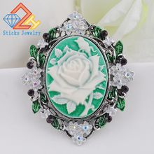 Brooches For Women 2017 Vintage Large Brooches Brand Fashion Brooches For Wedding Bouquets Flower Brooch Luxury Jewelry