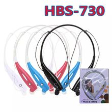 NEW HBS-730 Wireless Bluetooth Headphones HBS 730 Neckband Hands Free Sport Stereo Headset Earphone for Samsung S8 iphone X with retail box